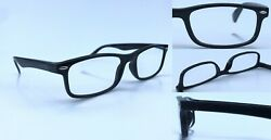 Nearsighted Glasses For Seeing Distance Black Myopia Minus Power -0.50 To -10.0