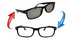 Transition Nearsighted Distance Glasses Myopia Photochromic Lens -1.00 To -6.00