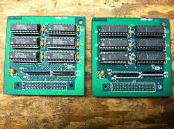 2 Memory Expansion Cards For Akai S-950 Sampler /vintage Board/max Memory/armens