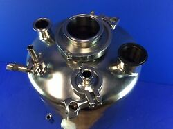 Alloy Products Corp. 8-gal 316l Stainless Steel Tank W/ 2 Itt 3/4 Valves