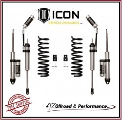 Icon 2.5 Suspension System Stage 2 For 2014-2020 Ram 2500 4wd