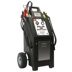 Heavy Truck 12/24 Volt Commercial Charger/starter With Agm Batteries Brand New