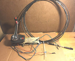 Hi-tex Throttle Control / Shifter With 14and039 Cable