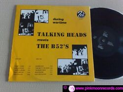 Talking Heads Meets The B 52and039s During Wartime Zoot Records Z 1011 Italy Lp