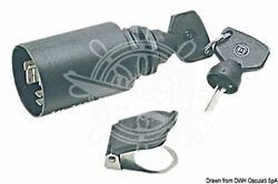 Osculati Watertight 30a Ignition Removable Key Ip65