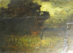 Antique George W. Whitaker Ri Tonalist Oil Painting Style Of George Inness