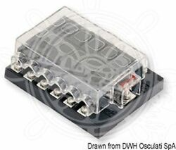 Osculati Standard Blade Fuse Holder Box with 12 Fuse Housings and Contacts