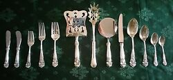 66 pieces set sterling 9251000 flatware Georgian pattern 1898 by Towle Silver