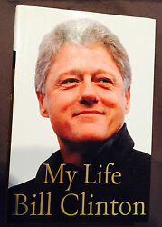 Bill Clinton Signed Autograph Book My Life Jsa Y99341 1st Edition/ 1st Printing
