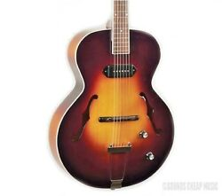 The Loar Lh-309-vs Archtop With P-90 Pickup Acoustic Electric Guitar