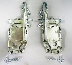 1967 Chevy Chevrolet Chevelle Front Door Latch Assembly Pair Right + Left