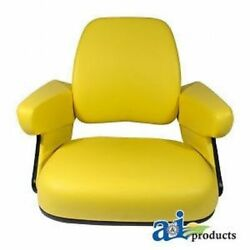 Compatible With John Deere Seat Cushion Set 4 Pc. 2955 3150 4050 4250 4555 465