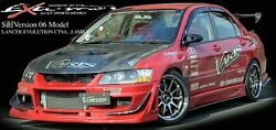 Varis Front Bumper Frp For Mitsubishi Evo 9 Ct9a 4g63 Front Bumper Only