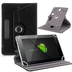 Black Flip Leather Folio Case Stand Box Cover For Android Asus Tablet 7 8 10.1