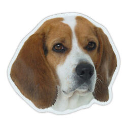 Magnetic Bumper Sticker Beagle Dog Breed Picture Magnet Cars Trucks SUVs
