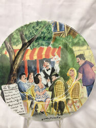Guy Buffet Perigold Dinner Plate 10 7/8 Waiter Serving Table Williams Sonoma