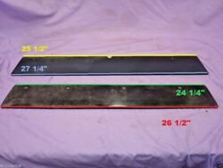 1989 Sea Ray 21 Laguna Plexiglass Dash Gauge Trim Panels Fast Ship