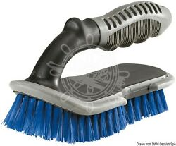 Shurhold Manual Brush With Soft Side Bumber And Handle For High Pressure