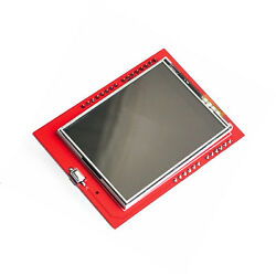 1pcs New 2.4 Tft Lcd Shield Touch Panel Module Tf Micro Sd For Arduino Uno R3