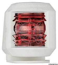 Osculati White Body Utility Compact 112.5 Left Red Navigation Light For Deck