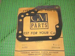 1953-62 Corvette Chevy Car Nos Gm Pg Trans Housing Lh Side Cover Gasket 3702649