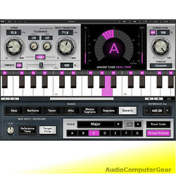 Waves Tune Real-time Pitch Correction Software Vocal Effect Plugin New
