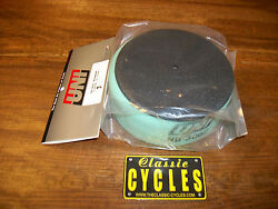 Rickman 125 Air Filter With Wire Cage And Cap Nu-3002 Ahrma Vintage Motocross