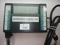 Monitor And User Interface Part No. 9629014 Boy-code A5 Procan Control