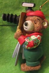 2 3/4 Ceramic Magnet Ornament Bear As A Turn-of-the-century Photographer