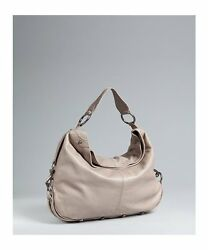 REBECCA MINKOFF Nikki hobo BAG - Rich Grey NEW factory wrapped  NWT $500