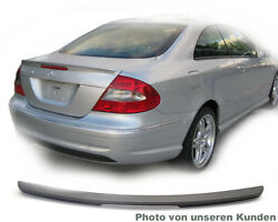Mercedes Clk C209 A209 209 Coupe Amg Tuning Spoiler Trunk Lid Paint Silver 775