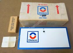 Nos Delco Small Cabinet Ac Dealership Dealer Chevrolet Ok Gas Service Station