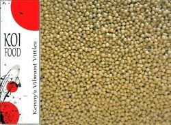 Koi Fish Food Floating Pond Pellets Color Enhancing Wheat Germ Diet 35 Protein