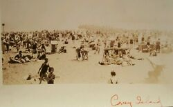 Antique Vintage Coney Island Beach Bums Artistic Masses American Bathing History