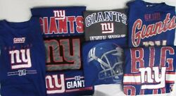 New York Giants Nfl Men's 2 Mystery Shirts - Multiple Sizes Available