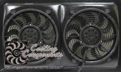 28 Dual Fan Set Up For 1970 And Up Muscle Cars
