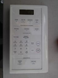 6pp37 Ge Microwave Touch Panel Main Board Tests Ok 2 Small Cracks On Bottom
