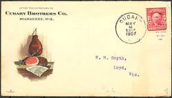Cudahy Brothers Co. Ham Advertising Cover Multicolor Scarce Bt2987