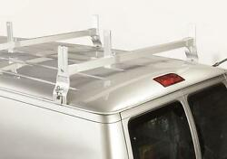 Heavy Duty Steel 2 Cross Support Ladder Rack - 1996 1/2 And Up Chevy/gmc Work