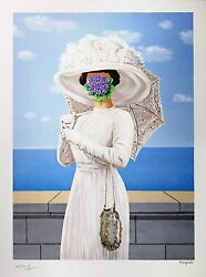 Rene Magritte - The Great War Signed And Numbered Lithograph