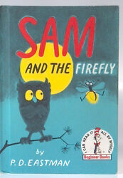 Vintage 1951 Sam And The Firefly Beginner Book PD Eastman