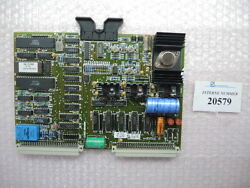 Diagnostic Card Sn. 73764 A Arb 389 D Arburg Used Spare Parts