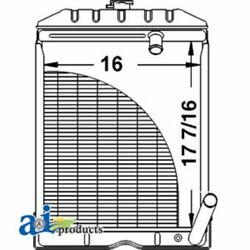 A-c5nn8005ab For Ford Tractor Radiator Naa 2000 4000 600 Series 700 Series