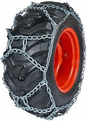 Quality Chain Duo277 10mm Duo Grip H-pattern Tractor Tire Chains Snow Traction