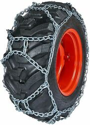 Quality Chain Duo280 10mm Duo Grip H-pattern Tractor Tire Chains Snow Traction