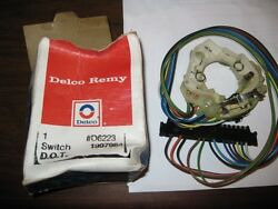 Delco Remy 1997984 Turn Signal Switch Cherolet 77-81 D6223 - Nos - Free Shipping