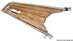 Osculati Dolphin Striker With Tilting Roller For Anchors 1180x590x330mm