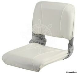 Osculati Reclining Seat Coated In White High-quality Vinyl