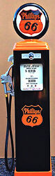 New Phillips 66 Reproduction Gas Pump - Antique Oil Replica - Free Shipping