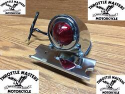 Original Style Chrome Tail Light For Harley Hard Tail, Chopper, Custom, Project